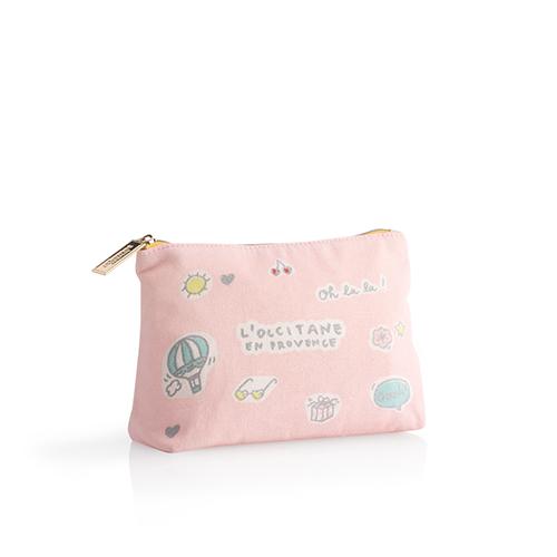 Pink Ooh-La-La Pouch