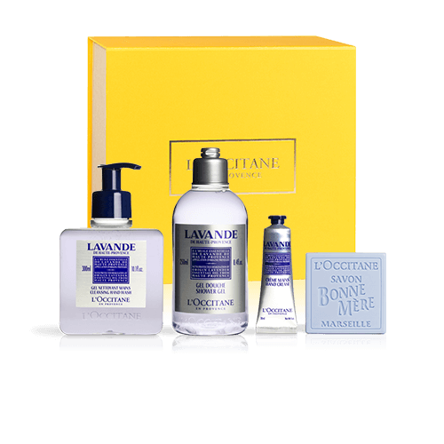 Relaxing Body Care Set | Lavender