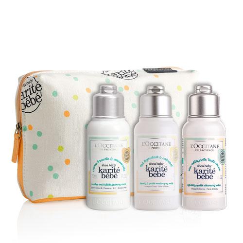 Dojenčkova prva kozmetična torbica