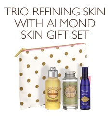 Trio Refining Skin with Almond Gift Set