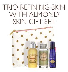 Trio Refining Skin with Almond Gift Set