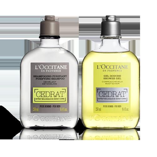 Sabonete Líquido e Shampoo Cedrat