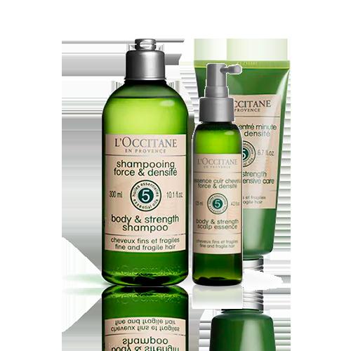 Rotina Shampoo e Tônico Capilar Força & Corpo