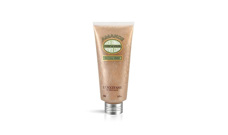 Almond Shower Scrub PLN 35!