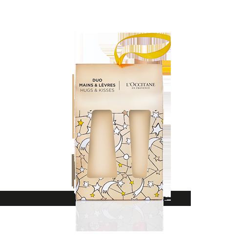 Caixa para Creme de Mãos 30ml + Bálsamo Labial 12ml