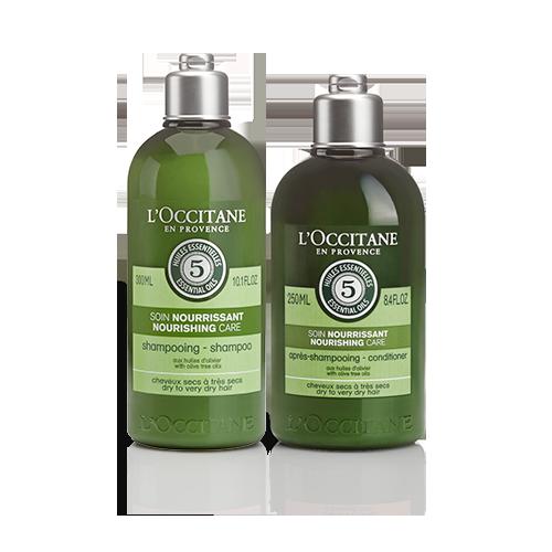 Shampoo e Condicionador Cuidado Nutritivo