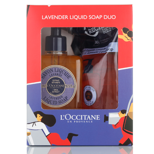 Lavender Liquid Soap Eco Duo
