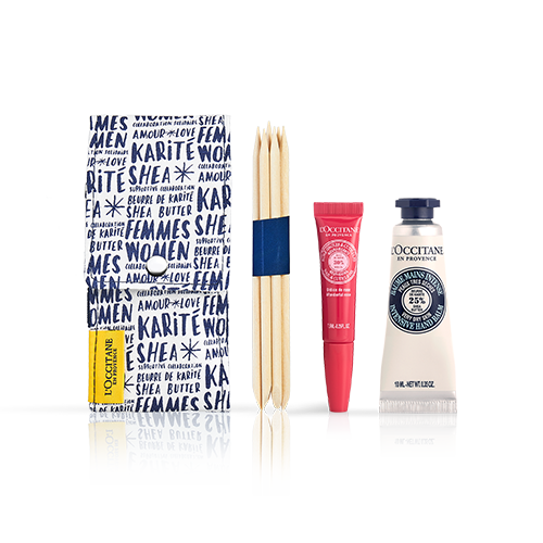 SHEA-ROSE MANICURE SET
