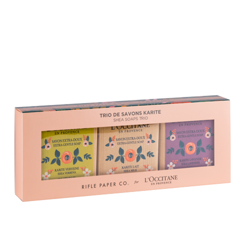 Trio de Sabonetes Rifle Papper