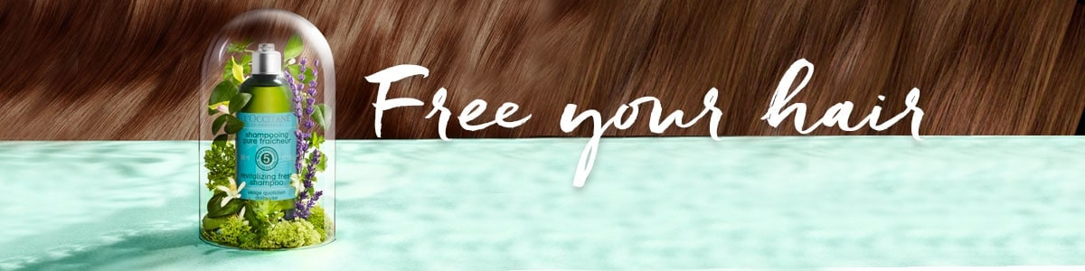 FREE YOUR HAIR, WITH THE RIGHT HAIR CARE - LOCCITABE MALAYSIA