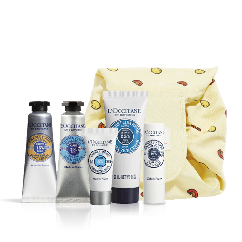 The perfect shea kit for face and body care