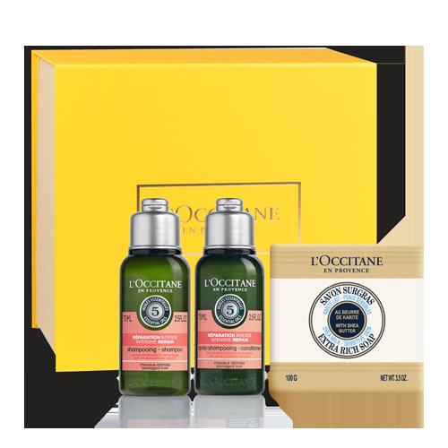 Aromakoloji Onarıcı Saç Bakımı Seyahat Seti