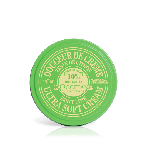 Monthly gift: Zesty Lime Shea Ultra Soft Cream