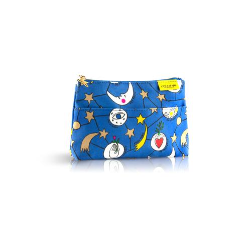Mėlyna šventinė CASTELBAJAC kosmetinė su kišenėle