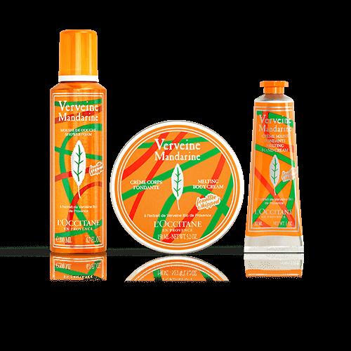 Home Spa Kit   Verbena Mandarin