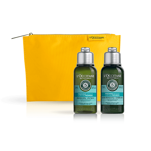 Aromochologie Purifying minisize haircare set