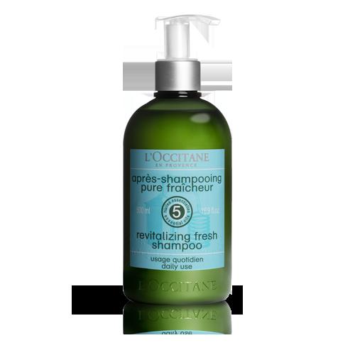草本療法清爽淨化洗髮水