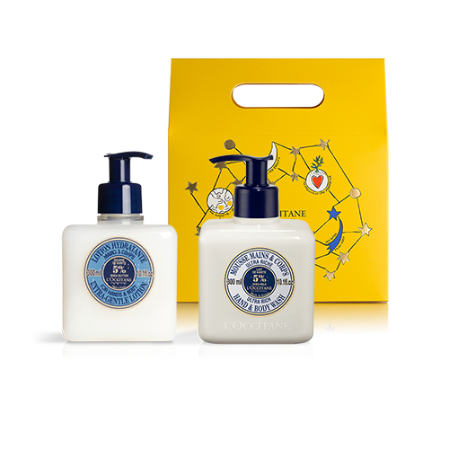 DUO - HAND WASH & LOTION | SHEA BUTTER