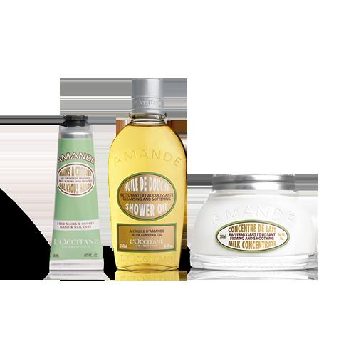 Almond Body Care Favorites