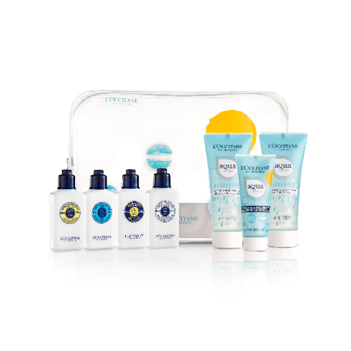 Aqua and Shea Body & Face Care Kit