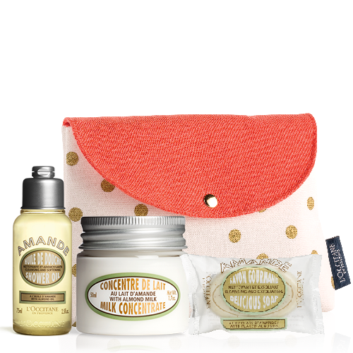 Most loved Almond produts travel set