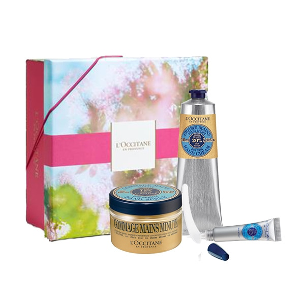 Moisturising Shea Butter Manicure Set for special price
