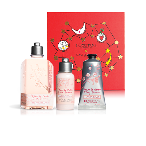 FEMININE BODY CARE SET | GIFT SET WITH CHERRY BLOSSOM