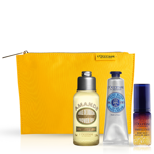 Most loved products in cosmetic bag