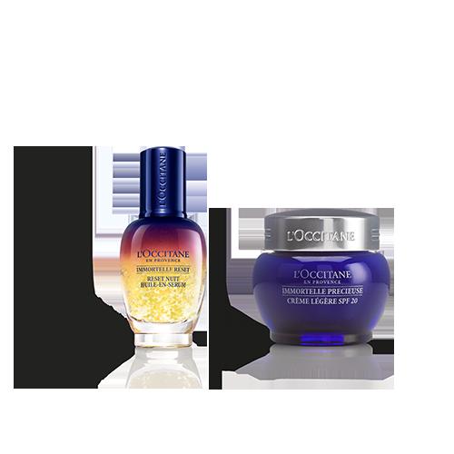 Anti-Ageing Face Cream SPF & Reset Duo
