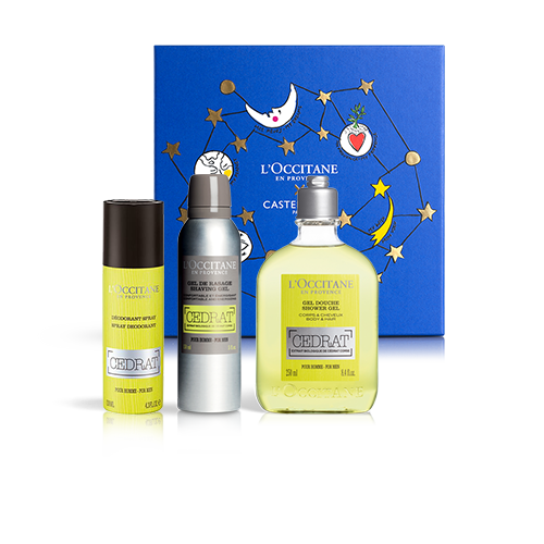 Invigorating Perfume For Him - Cédrat Set