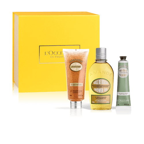 Smoothing Body Care Set Classic | Almond