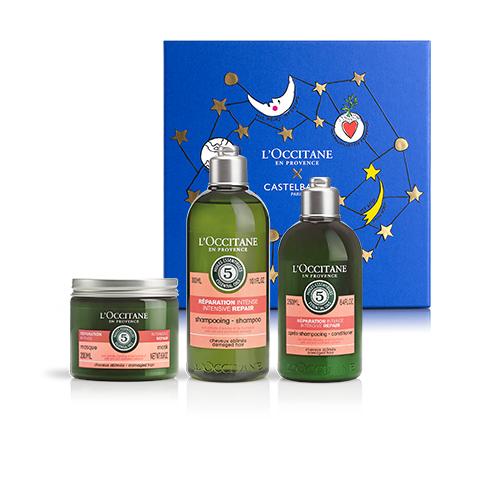 REPAIRING HAIR CARE SET | GIFT SET WITH AROMACHOLOGIE REPAIRING