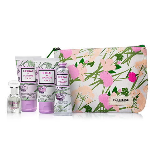 HERBAE L'EAU TRAVEL SET