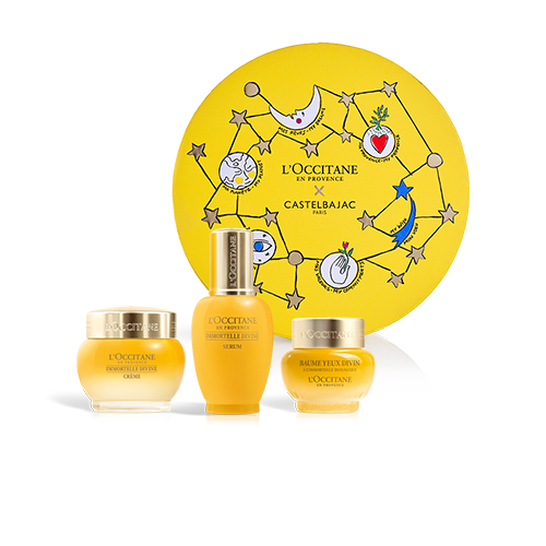 ANTI-AGE FACE CARE SET PREMIUM | GIFT SET WITH IMMORTELLE DIVINE