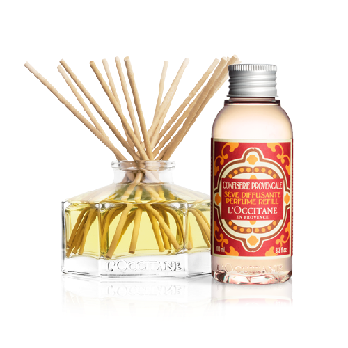 Home Perfume Diffuser + Candied Fruits