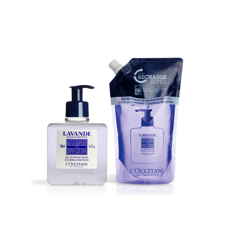 Lavender Cleansing Hand Wash Refill Duo