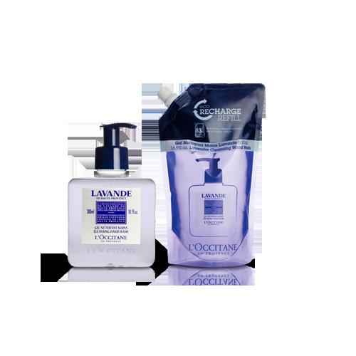Lavender Cleansing Hand Wash Refill Duo - Lavanta Sıvı Sabun Ekonomik Yedek İkilisi