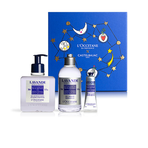 RELAXING BODY CARE SET | GIFT SET WITH LAVENDER