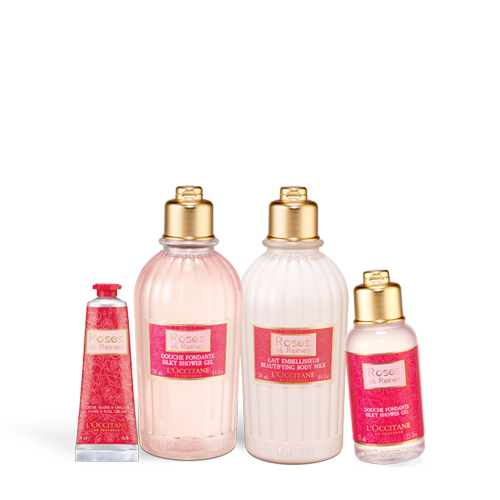 Velvety Rose Body Care Set