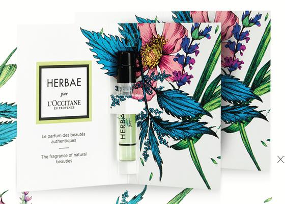 herbae EDP vial