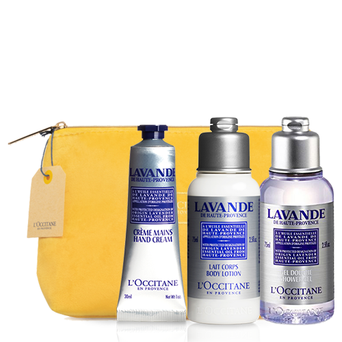 Lavender Travel Set