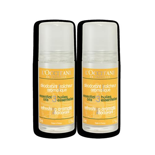 Duo Refreshing Aromatic Deodorant