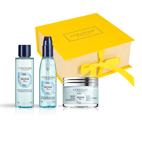 Aqua Reotier Travel Set with a Cream