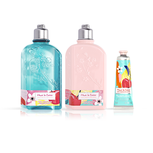 Cherry Blossom limited edition trio