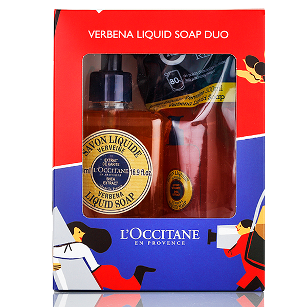 Verbena Liquid Soap Eco Duo