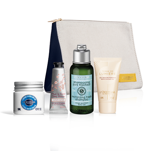 Provencal Care Set with a pouch for 23 € only