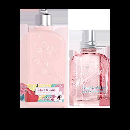 Duo Hidratação e Fragrância Flor de Cerejeira Infusion Fruitée
