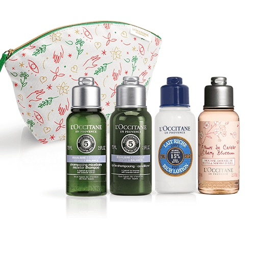 Hair & Body Travel Kit