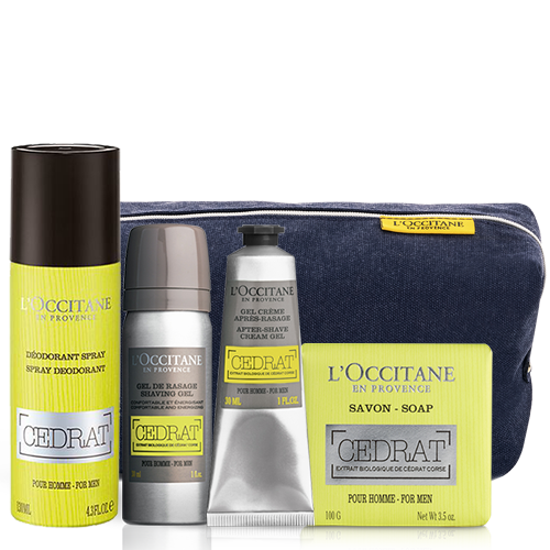 Cedrat Travel Set | L'OCCITANE