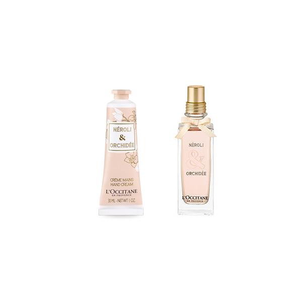 Néroli & Orchidée Parfüm &  El kremi İkilisi